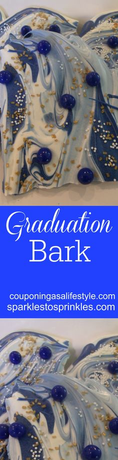 Make your graduation celebrating extra special with this easy to make bark.  Let your graduate know just how special they are.