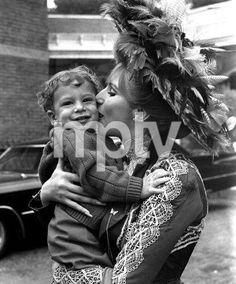 """Hello Dolly"" Barbra Streisand and son Jason Gould 1969 20th Century Fox **I.V."