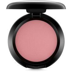 Mac Powder Blush- Mocha (€20) ❤ liked on Polyvore featuring beauty products, makeup, cheek makeup, blush, mocha, mac cosmetics and powder blush