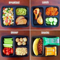 A collection of photos with food, recipes for sports food, sports nutrition. This site addresses the relationship between nutrition and human health! Lunch Meal Prep, Healthy Meal Prep, Healthy Snacks, Healthy Eating, Healthy Recipes, Lamb Recipes, Snack Recipes, Recipes Dinner, Chicken Recipes