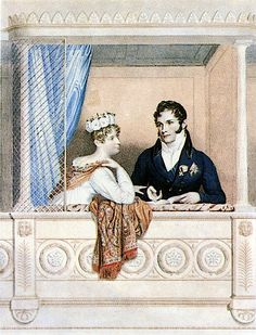 1816 Princess Charlotte Augusta of Wales and Leopold I after George Dawe (National Portrait Gallery)