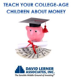 Every child of college age has some basic understanding of money and finances.  Since their first day at school they've known about the need for things like lunch money or after school snacks.Now that're heading off to college they need more knowledge as they'll be on their own and handling their own finances, probably for the first time.