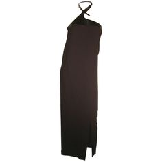 1990s Tom Ford for Gucci Leather Harness Gown | From a collection of rare vintage evening dresses at http://www.1stdibs.com/fashion/clothing/evening-dresses/