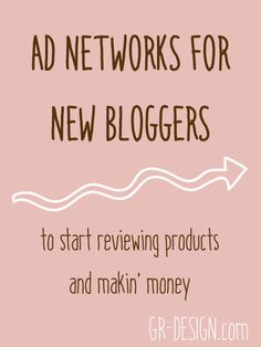 Want to start monetizing your blog (or at least setting the ground work for being able to in the future)? But you only have less than 3000 page views per month? Don't be discouraged! I'm all about encouraging bloggers who are just starting up, and here are some ad networks that you can sign up to be an advertiser on, even if you are a small-time blog. // GR-DESIGN.com