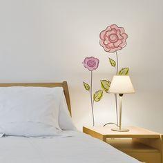 flores dibujadas para darle un toque primaveral a tu habitacin
