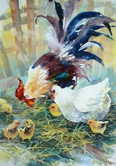 Lian Zhen Watercolor