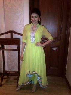 Actress Prachi Desai