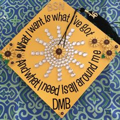 Graduation cap. Dave Matthews Band