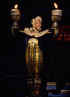 Beauty and the Beast opened at The Palace Theatre on April 18, 1994.