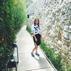 Fashion Blogger// Split Skirt