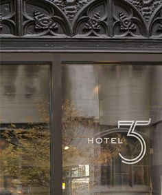 Hotel 35 logo by Kyle Prop