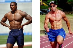 Why You Should Be Sprinting to Get Lean. (It's not a before and after photo BTW. Fitness Diet, Fitness Motivation, Health Fitness, Health Guru, To Loose, Gain Muscle, Powerlifting, Weight Training, Ways To Lose Weight