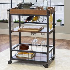 Mercury Row® Wesley Kitchen Cart