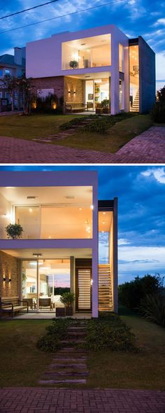 ESTUDIO 30 51 designed Casa Ventura M22, a residence for a family in Rio Grande do Sul, Brazil.