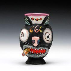 Schaller Gallery : Exhibition : Tetrad - a group of four : Michael Corney : Cat Cup - Cash