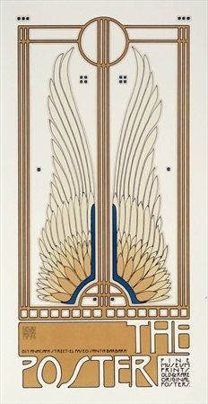 Goines often draws from an Art Deco influence - can you see it in the lines? vepca.com