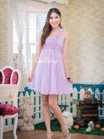 Violet Charming Dress for evening event  for more info pls visit : http://goodfeelingdress.lnwshop.com/