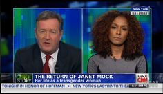 Janet Mock Returned to Piers Morgan Live Tonight: Here's What Went Down