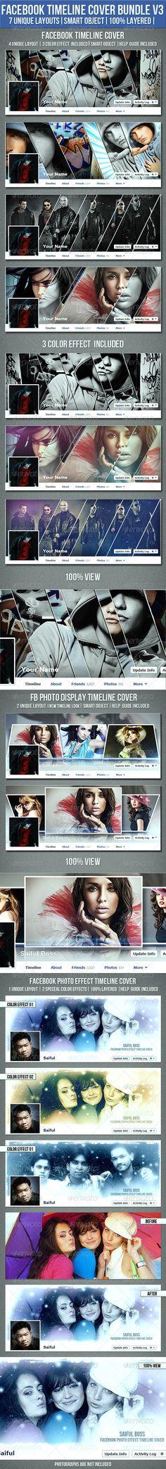 Facebook Timeline Cover Bundle V3