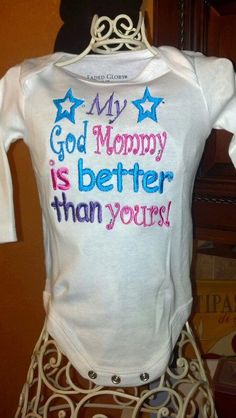 My God Mommy is BETTER than yours by SouthernBlingBowtiqu on Etsy, $18.00