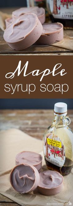 awesome Maple Syrup Soap