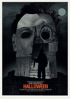 Poster Halloween, 1978, por Methane Studios