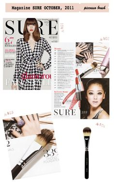 press Magazine SURE OCTOBER, 2011 www.piccassobeauty.net