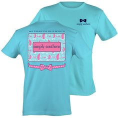Simply Southern Tie That Binds Us Preppy Whale Sails T-Shirt