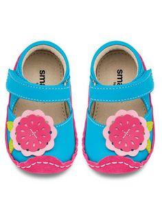 d5b602aaba67c See Kai Run Baby Girls Tegan Blue Mary Jane Shoe NEW The