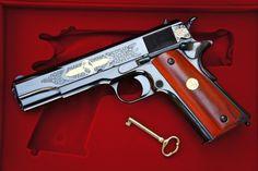 Colt 100th anniversary gun