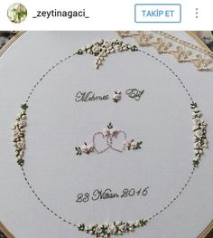 Embroidery Flowers Pattern, Creative Embroidery, Simple Embroidery, Learn Embroidery, Hand Embroidery Stitches, Embroidery Hoop Art, Cross Stitch Embroidery, Embroidery Designs, Heirloom Sewing