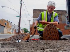 Urban Mining: Philadelphia is Losing its Manhole Covers