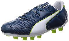 Puma Universal II FG Jr, Unisex-Kinder Fußballschuhe, Blau (majolica blue-white-lime punch 01), 38.5 EU (5.5 Kinder UK) - http://on-line-kaufen.de/puma/38-5-eu-5-5-kinder-uk-puma-universal-ii-fg-unisex