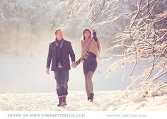Romantic winter couple shoot | Photography: Capture Love