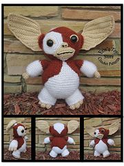 100% FREE PATTERN, Gizmo, The Gremlins, Available to download in PDF format