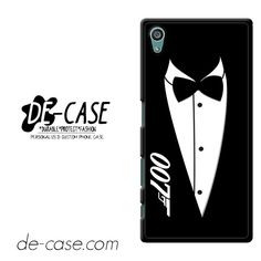 James Bond 007 Black And White Party Invitations Tie DEAL-5780 Sony Phonecase Cover For Xperia Z5