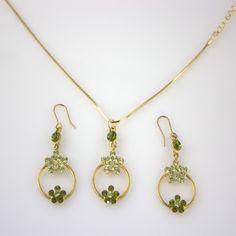 Genevieve Swarovski  Jewelry Set