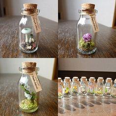 minne(ミンネ)  きの小瓶