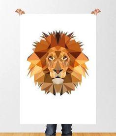 Resultado de imagem para print lion