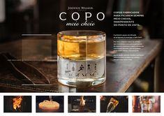 Copo Meio Cheio Johnnie Walker, Arte Online, Advertising, Ads, Project Board, Portfolio Layout, Concept Board, Candle Jars, Tableware