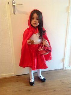 Halloween's costume, My little red riddinghood