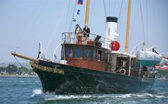 steam-yacht cangarda.
