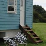 Rolling Downs - glamping in shepherd huts near Lewes, East Sussex