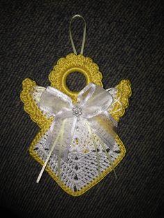 Crochet Dishcloth Patterns Free Ravelry 45 Ideas For 2019 Crochet Christmas Ornaments, Christmas Crochet Patterns, Holiday Crochet, Christmas Tree, Thread Crochet, Crochet Crafts, Crochet Projects, Crochet Angel Pattern, Crochet Angels