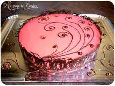 Bavarois framboise chocolat (recette sur le blog)