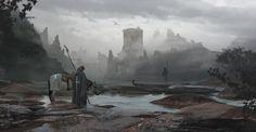 ArtStation - Shore of dragons, Rostyslav Zagornov