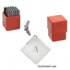 Steel Stamps - alphabet and numbers