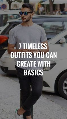 Want to know the secret of dressing well? It's timeless outfit ideas that never go out of style. Check out these timeless outfit ideas for men. Mens Fashion Blog, Best Mens Fashion, Fashion Mode, Fashion Tips, Fashion Edgy, Fasion, Fashion Styles, Style Fashion, Fashion Ideas