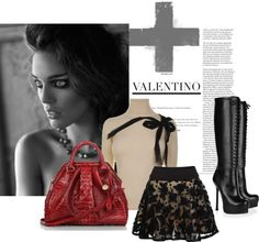 """""""Plus Valentino"""" by the-house-of-kasin ❤ liked on Polyvore"""