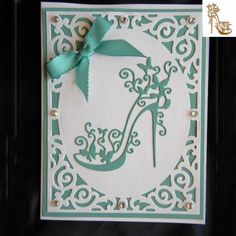 Cheap card card, Buy Quality card die cutting directly from China cards diy Suppliers: Metal Stencils Template High-heeled Shoes Cutting Dies DIY Scrapbooking Photo Album Decorative Embossing Folder Paper Cards 21st Birthday Cards, Birthday Cards For Women, Handmade Birthday Cards, Greeting Cards Handmade, Happy Birthday, Birthday Crafts, Birthday Woman, Cards Diy, Paper Cards